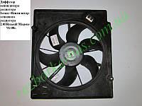 Диффузор вентилятора радиатора 2.0i 1секц RENAULT MEGANE 95-03 (РЕНО МЕГАН) (7700421148)