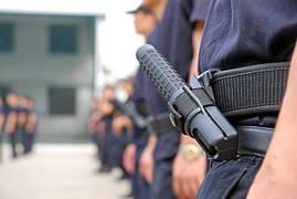 Дубинки готовы для обучения ... В Китае продукт ESP выдается в качестве обязательного аксессуара полиции.