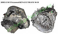 КПП 1.9 DCI 5ступ. выжим на 3 болта RENAULT TRAFIC 00-10 (РЕНО ТРАФИК) (РК5019)
