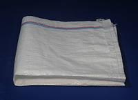 Белый упаковочный мешок 90/54 см из полипропилена