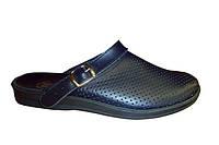 Обувь поварская, синие мужские сабо