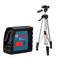 Лазерный нивелир Bosch GLL 2-50 + Штатив BS 150