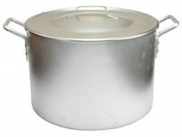 Котел алюминиевый поварской с металлическими ручками 20 литров
