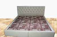 Кровать Анталия 160х200 двуспальная с мягким изголовьем и подъемным механизмом