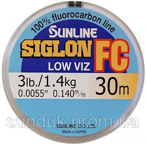 Леска флюорокарбоновая Sunline Siglon FC (30м)