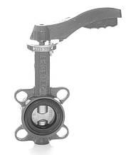 Затвор поворотный Баттерфляй GENEBRE тип 2109 Ду80 Ру16 диск нержавеющая сталь