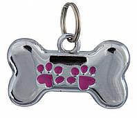 Брелок-адресник Trixie для собак, 35х20 мм