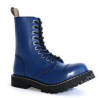 GLANY STEEL 10  дырок синие model 106/O/F.BLU