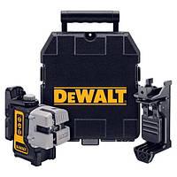 Лазер самовыравнивающийся 3-х плоскостной (горизонт, вертикаль, бок) DeWALT DW089K.