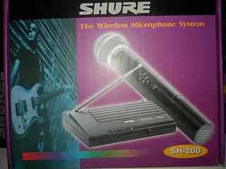 Радиомикрофон Shure SH-200 Качество !!!