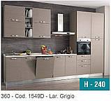 Итальянские кухни (с бытовой техникой) 360 см 7 вариантов, фото 2