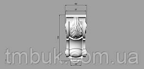 Кронштейн деревянный  - 60х130 мм, фото 2