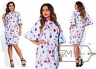 """Стильное платье для пышных дам """" Широкий рукав """" Dress Code, фото 1"""