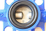 Затвор поворотный Баттерфляй GENEBRE тип 2109 Ду400 Ру10 диск нержавеющая сталь (с редуктором ), фото 10