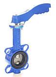 Затвор поворотный Баттерфляй GENEBRE тип 2109 Ду500 Ру10 диск нержавеющая сталь (с редуктором ), фото 3