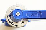 Затвор поворотный Баттерфляй GENEBRE тип 2109 Ду500 Ру10 диск нержавеющая сталь (с редуктором ), фото 9