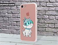 Силиконовый чехол для Apple Iphone 8 plus (Snowball)