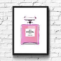 Постер с рамкой Coco Chanel #4