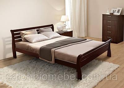 Кровать двухспальная Ретро 1,4м ольха