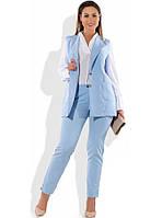 Строгий костюм двойка размеры от XL 4161