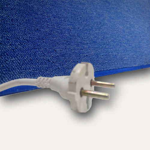 Коврики с подогревом UNI COLOR цвет синий мощьность 22 Вт , 530х230 (мм)