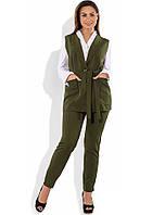 Строгий костюм двойка размеры от XL 4162
