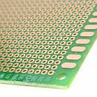 PCB макетная монтажная плата 5х7см Текстолит, фото 3