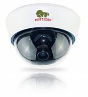 Видеокамера купольная варифокальная Partizan CDM-VF32HQ-7 v3.1 Black/White