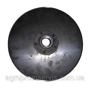 Диск сошника з маточиною СЗ Н 105.03.010-02 на сівалку зернову СЗ-3,6