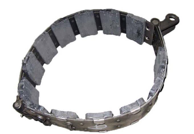 Лента тормозная ДТ-75 остановочная 77.38.040-2, фото 2
