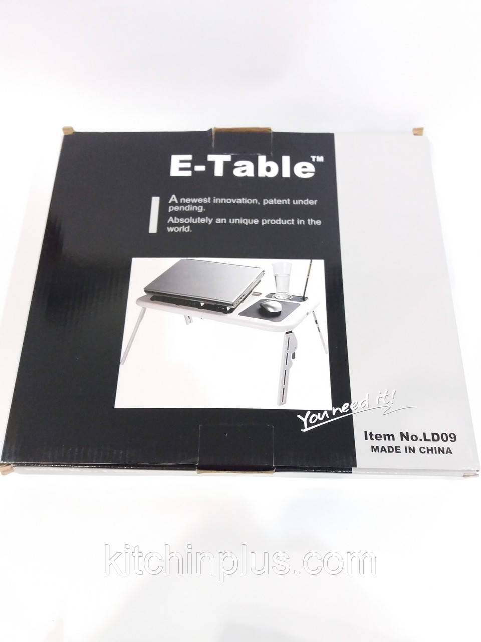 Столик для ноутбука  портативный  складной  с охлаждением E-Table