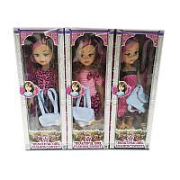 Кукла большая 8218ABC в ассортименте, с сумкой, в кор.