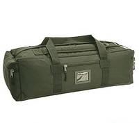Сумка-рюкзак 80л. хаки (олива)