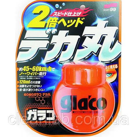 Средство антидождь Soft99 04107 Glaco Roll On Large — водоотталкивающий эффект на 3 месяца, фото 2