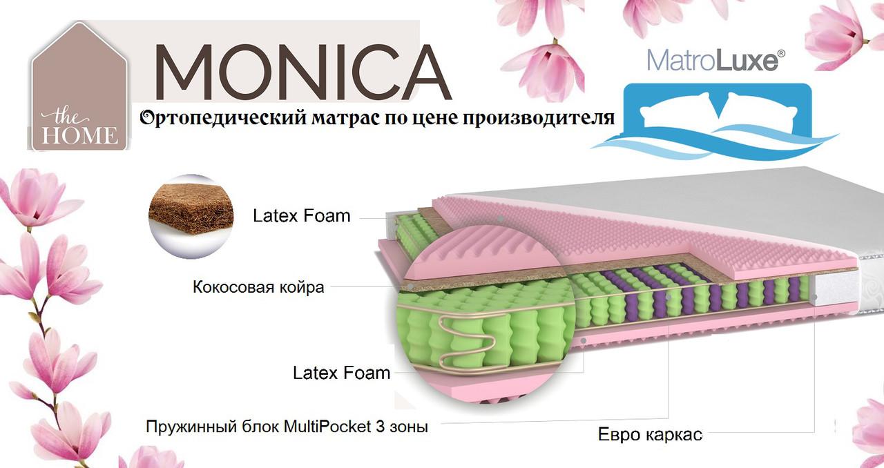 Двусторонний ортопедический матрас Monika