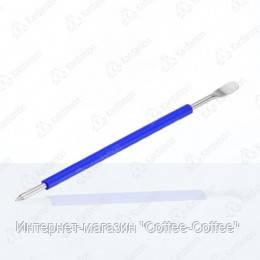 Кисточка бариста (латте арт) синяя тм Motta, фото 2
