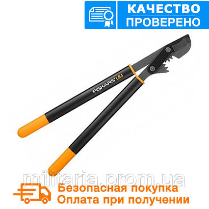 Сучкорез плоскостной PowerGear™ Steel от Fiskars (M) (112370), фото 2