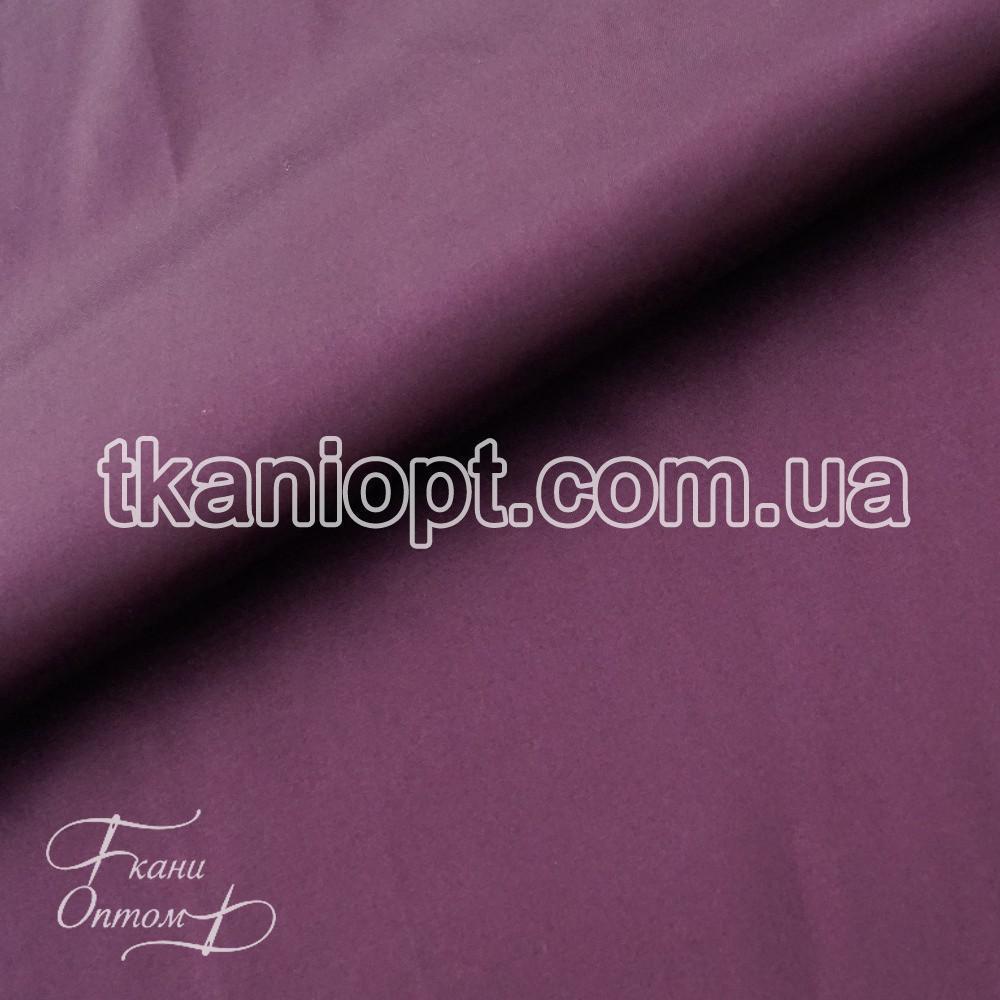 Ткань Атлас коттон (баклажан)