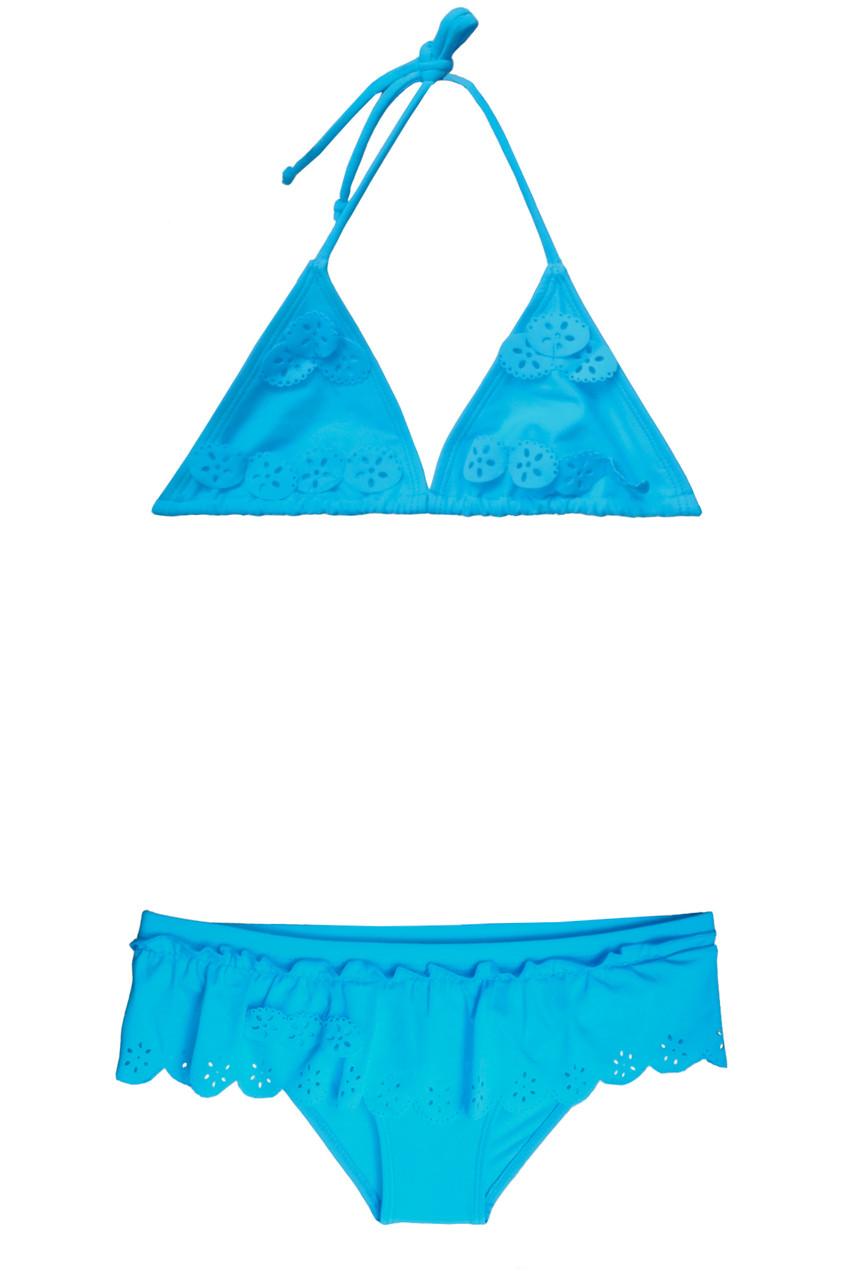 Детский купальник для девочки шторкой