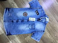 Рубашка джинсовая от 9 до 12 лет