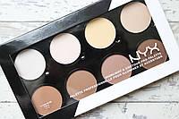 Палетка для контурирования NYX Professional Makeup Highlight & Contour Pro Palette  (реплика)