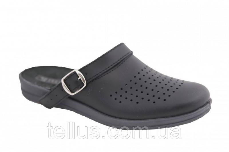 Обувь поварская сабо мужские кожзам