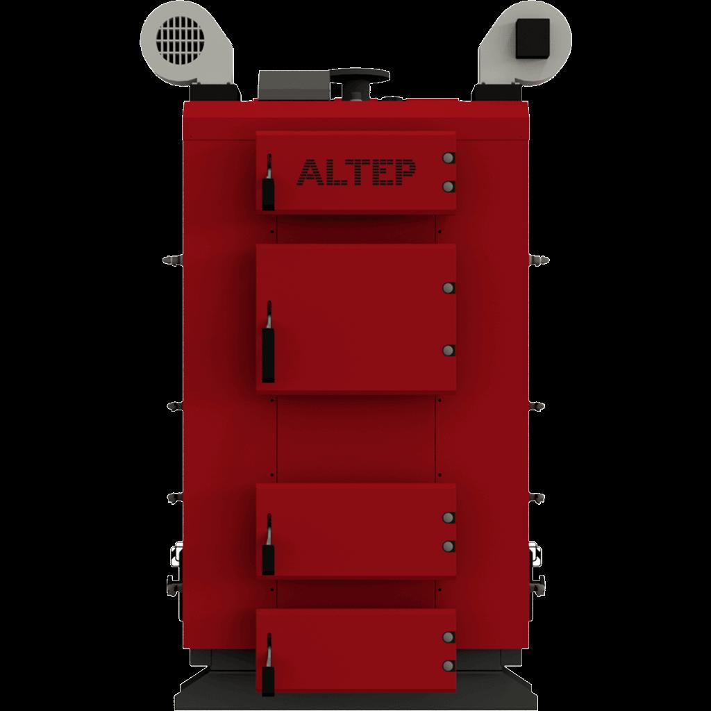 Промышленный котел на твердом топливе длительного горения Альтеп TRIO (КТ-3Е) 250 (Altep)