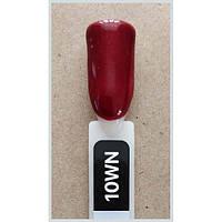 Гель лак Kodi № 10 wn  8 мл. Бордовый с шиммером.