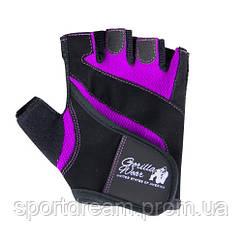Перчатки Gorilla Wear Women's Fitness Gloves Black/Purple 9980290600