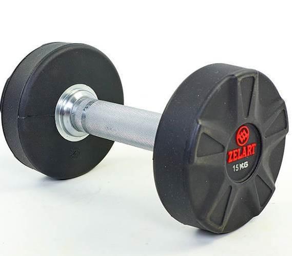 Гантель професійна DB6112 (15 кг)