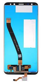 LCD модуль Huawei Mate 10 Lite / Nova 2i (RNE-L01, RNE-L21) синий