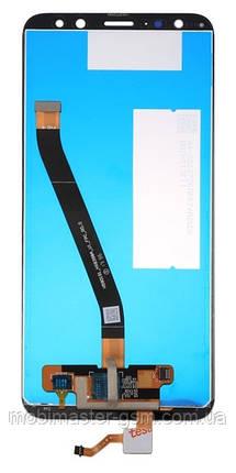 LCD модуль Huawei Mate 10 Lite / Nova 2i (RNE-L01, RNE-L21) синий, фото 2