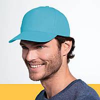 Бейсболки, кепки разных цветов SOL'S BUZZ под нанесение логотипа