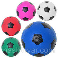 Мяч футбольный, резина (5) Разные цвета MS0019